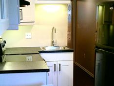 Interior of Modular Home